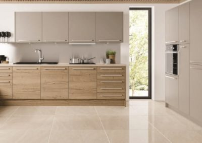 ECO Tempo Halifax Oak with Stone Grey